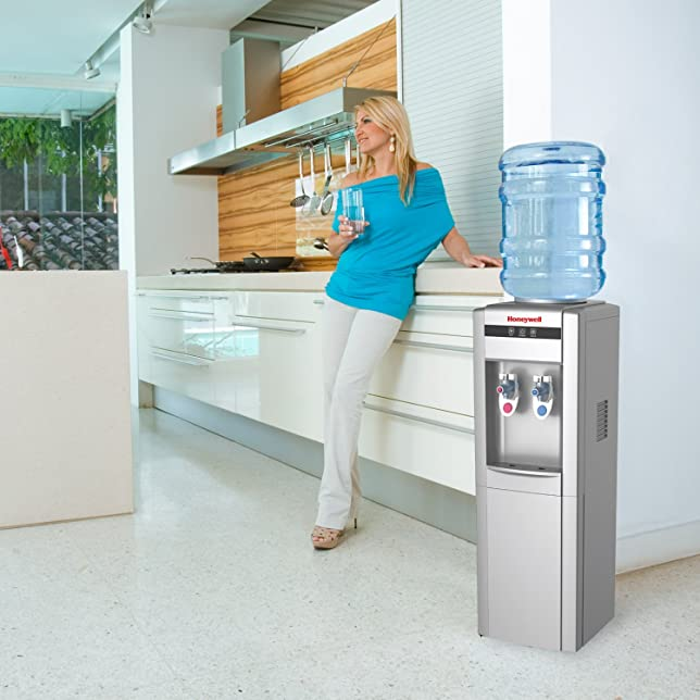 Honeywell HWB1052S Cabinet Freestanding Hot and Cold Water Dispenser Via Amazon