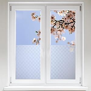 Artefact® Dekofolie / Fensterfolie Quad   statisch haftend (ohne Kleber)   verschiedene Größen  BaumarktBewertungen