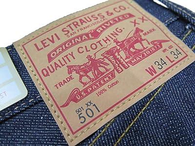1966年モデル 【LVC】 リーバイス 501XX ストレートジーンズ/生デニム LEVIS 501XX 1966 MODEL
