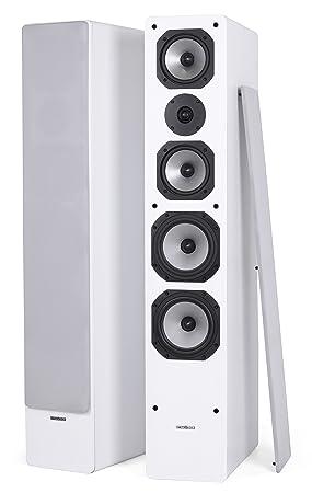 DYNAVOICE Challenger M-65 v.4 - Paire enceintes - Blanc. Placement des écouteurs: Sol. Boîtier d'écouteurs: Bass Reflex. Tweeters: 1 x 1