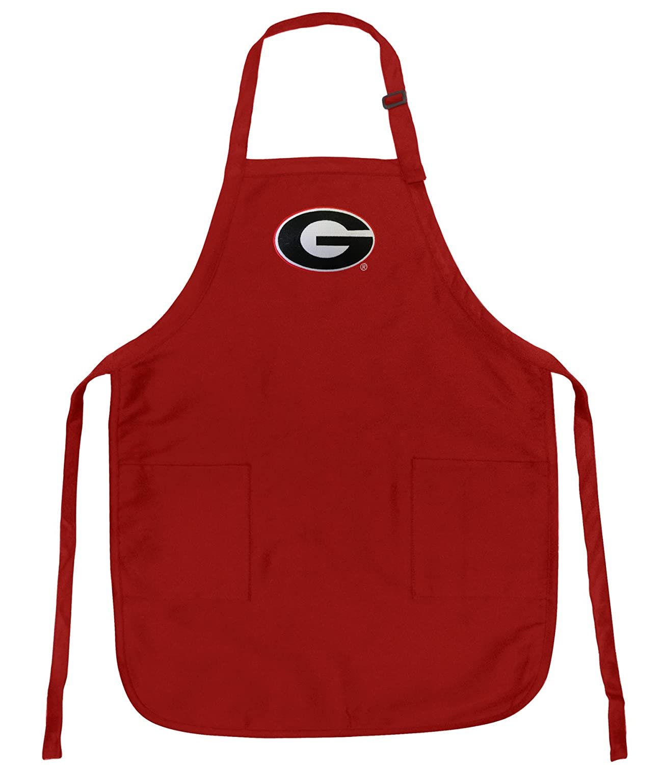 Georgia Bulldogs Apron OFFICIAL University of Georgia UGA TOP RATED FULL SIZE Adjustable Neck with Pockets assorted childs apron  case of 432