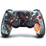 PS4 DualShock Wireless Controller Pro Console - Newest PlayStation4 Controller with Soft Grip & Exclusive Customized Version Skin (PS4-Darksiders)