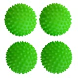 Set of 4 Black Duck Brand Green - Reusable Dryer Balls Replace Laundry Drying Fabric Softener and Saves You Money! (4) (Color: Green, Tamaño: 2.75