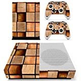 eSeeking Whole Body Vinyl Skin Sticker Decal Cover for Microsoft Xbox One Slim Console Wood