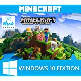 Minecraft Windows 10 Edition, PC, CD KEY, No Box, Activation Key Only, Region Free
