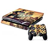 Lehang8899 PS4 skins decals vinyl for playstation 4 console/Controller GTA V Decal #008