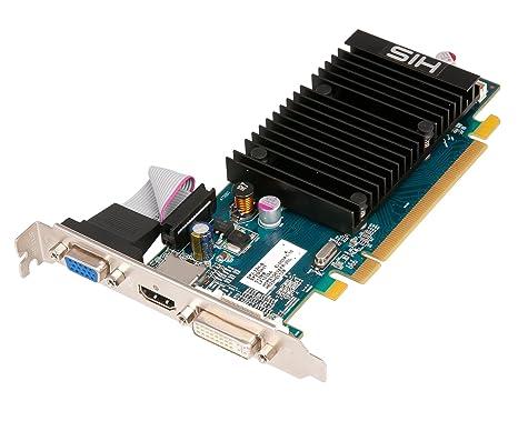 HIS H545HR1G Carte graphique Radeon HD 5450 650 MHz PC Express 16x 1024 Mb 1000 MHz