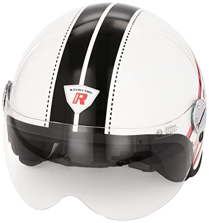 Bottari Moto 64502 Casque Evolution, Blanc, S