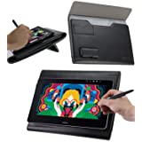 Broonel - Prestige - Black Premium Graphics Tablet Folio Case Cover Compatible with The Parblo Coast 13 (Color: Black)