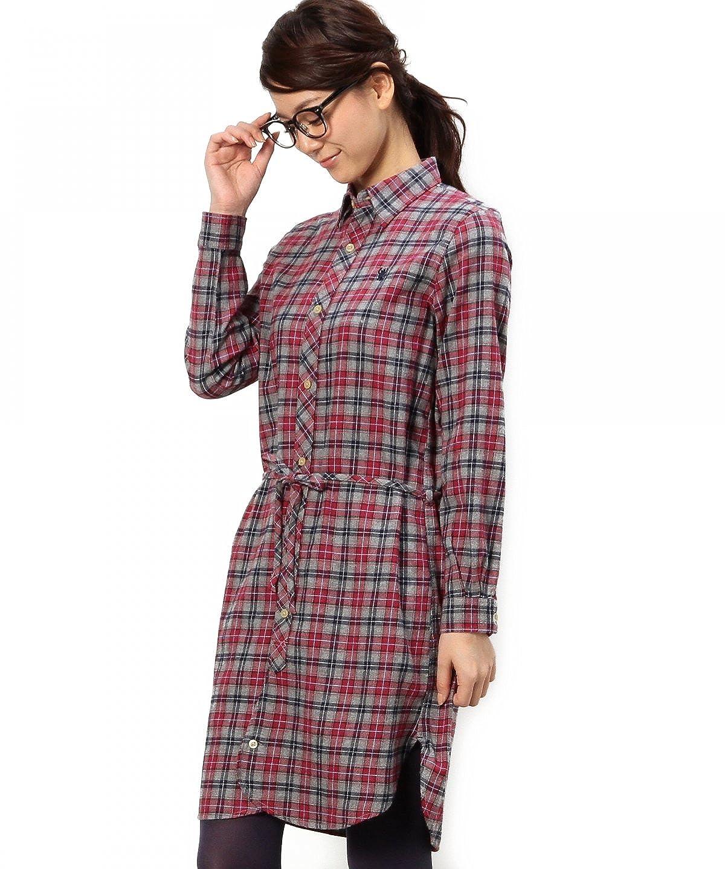 Amazon.co.jp: (コーエン) COEN ネルミニチェックシャツワンピース: Amazonファッション通販