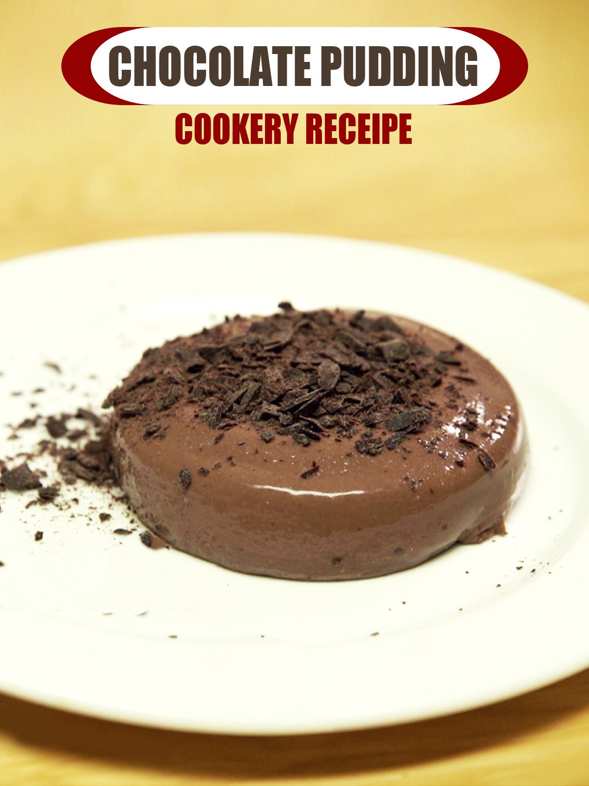 Clip: Chocolate Pudding Cookery Receipe
