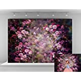 Kate 10x6.5ft Abstract Photography Backdrops Painting Pink Flowers Photo Background for Princess Backdrop (Color: 7148, Tamaño: 10x6.5ft)