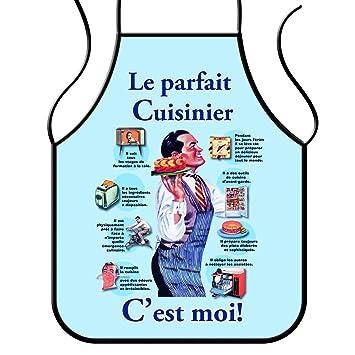 Tablier cuisine humoristique humoristique le parfait for Cuisinier 71