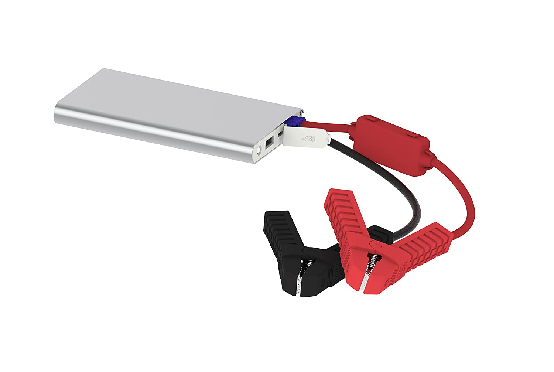 PowerAll PBJS6000SL Silver/White Aluminum Portable Lithium Jump Starter