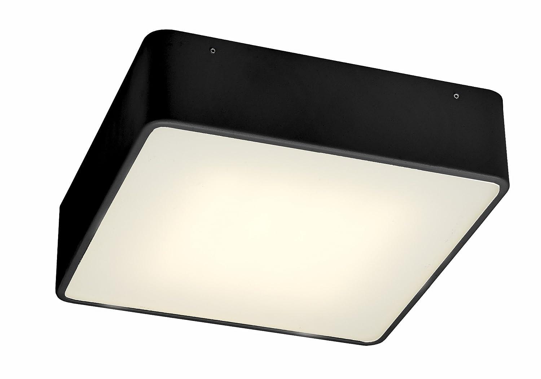 Kaspa Deckenleuchte Flat LED M schwarz SP-30299102