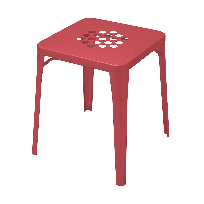 Pattern Hocker rot günstig kaufen