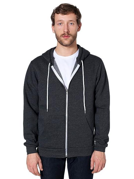 American Apparel - American Apparel Flex Fleece Zip Hoodie