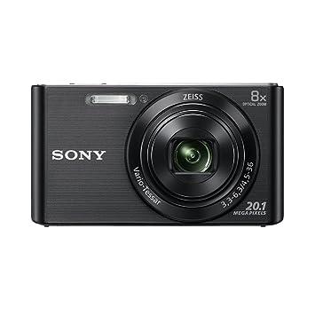 Sony DSCW830B.CE3 Appareil photo numérique compact 20,1 Mpix Zoom optique 8x Noir