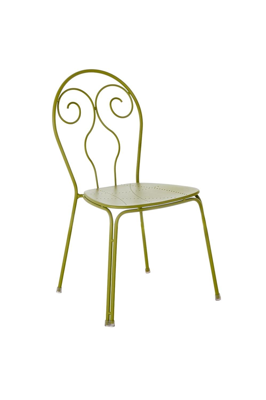 Emu 309306000 Caprera Stuhl 930, pulverbeschichteter Stahl, 4-er Set, grün günstig online kaufen
