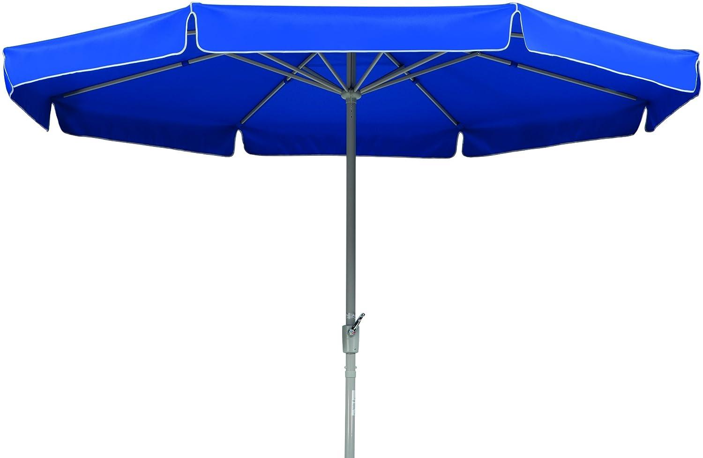 Schneider Sonnenschirm Amalfi, blau, ca. 400 cm Ø, 8-teilig, rund bestellen