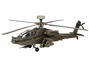 Revell - 64420 - Maquette - Model Set AH-64D Longbow Apache - Echelle 1:48