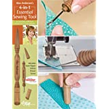 C&T PUBLISHING Alex Anderson's 4-in-1 Essential Sewing Tool: Includes Seam Ripper, Stiletto, Presser, and Turner (20109)