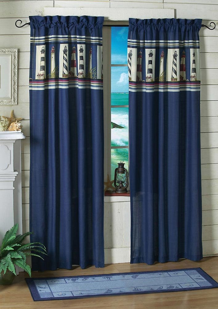 5 Styles Of Nautical Themed Curtains