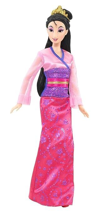 Disney Princess Sparkling Princess Mulan Doll