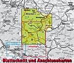 Brocken / Nationalpark Harz: 1:25.000...
