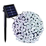 Binval Solar Fairy String Lights,Ambiance lighting for Outdoor,Home,Lawn,Wedding,Christmas Party,72feet 200LED,White