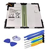 SUNNEAR Replacement Tablet Battery 3.8V 7300mAh 27.74Wh EB-BT585ABE EB-BT585ABA for Samsung Galaxy Tab A 10.1