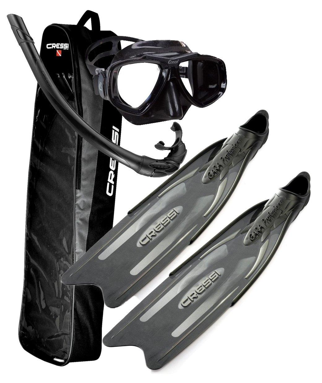 Cressi-Gara-Professional-Fins-Freediving-Spearfishing-Mask-Fin-Snorkel-Set