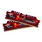 G.SKILL Ripjaws X Series 8GB (2 x 4GB) Desktop Memory, 240-Pin DDR3 SDRAM, 1600 MHz, PC3 12800 (F3-12800CL9D-8GBXL)