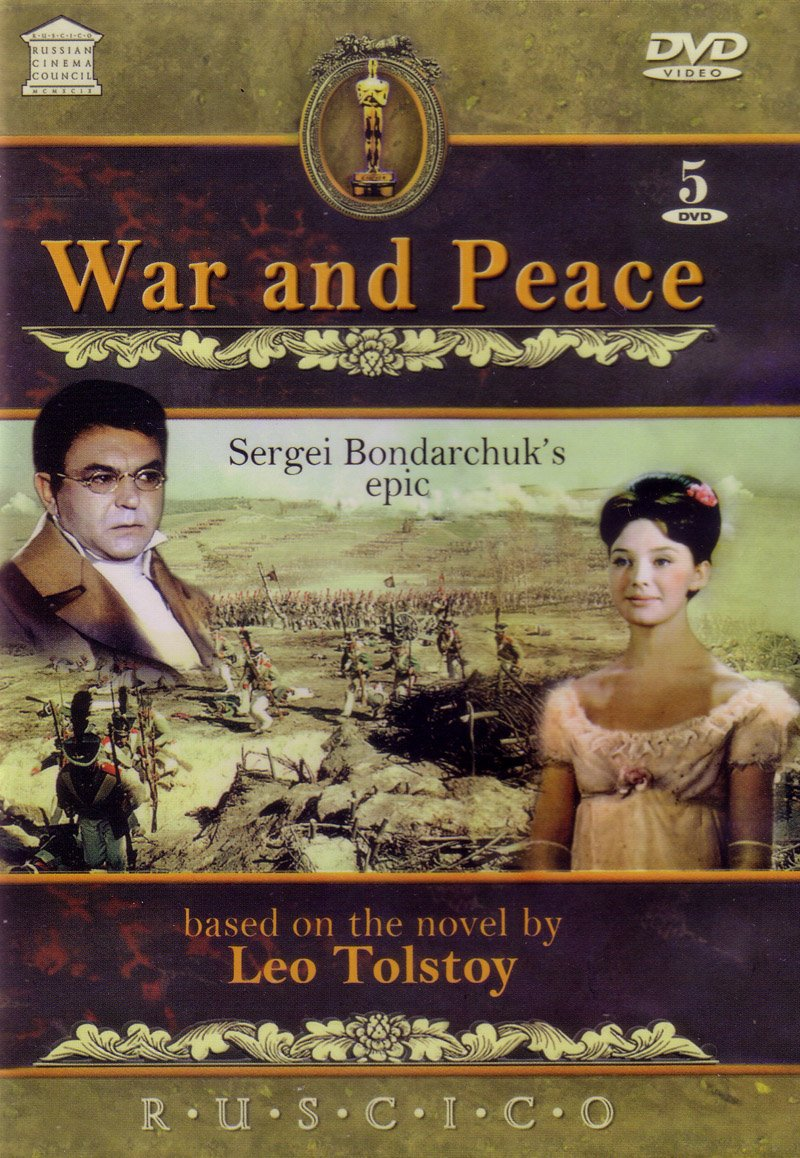 Tolstoy War And Peace War And Peace 5 Dvd Set