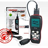 Xtool Vag401 Live Data OBD2 Auto Scanner for Vw, Audi, Seat and Skoda, VAG Code Reader, Diagnostic Scan Tool with Oil Reset, Airbag Reset and Actuation test Function, ABS SRS Engine Trouble Code OBD2 Reader
