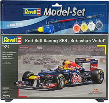 Revell - 67074 - Maquette - Model Set Red Bull Racing Vettel