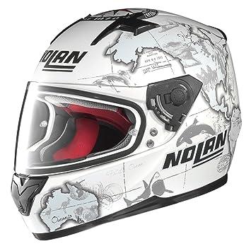 Nolan - Casque - N64 GEMINI REPLICA C.CHECA - Couleur : Blanc - Taille : S
