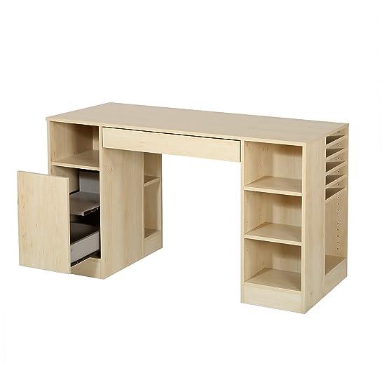 South Shore crea tavolo artigianale, acero naturale, legno