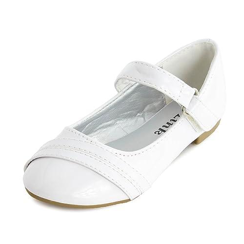 Girls-Low-Heel-Ankle-Hook-Flat-Shoes-Toddler-Little-Kid-Big-Kid-