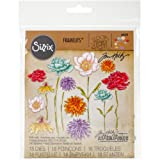 Sizzix 661613 Framelits Die Set, Flower Garden & Mini Bouquet (18 Dies)
