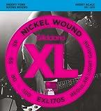 D'Addario EXL170S Nickel Wound Bass Guitar Strings, Light, 45-100, Short Scale