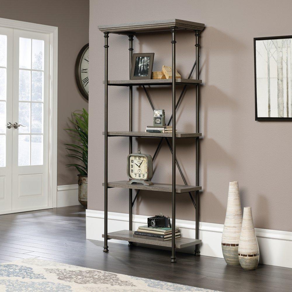 Sauder Canal Street 5 Shelf Bookcase 0