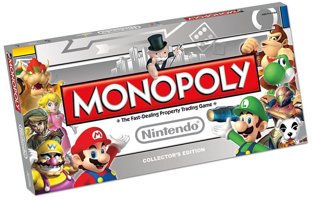 Monopoly Nintendo Buy Free Shipping