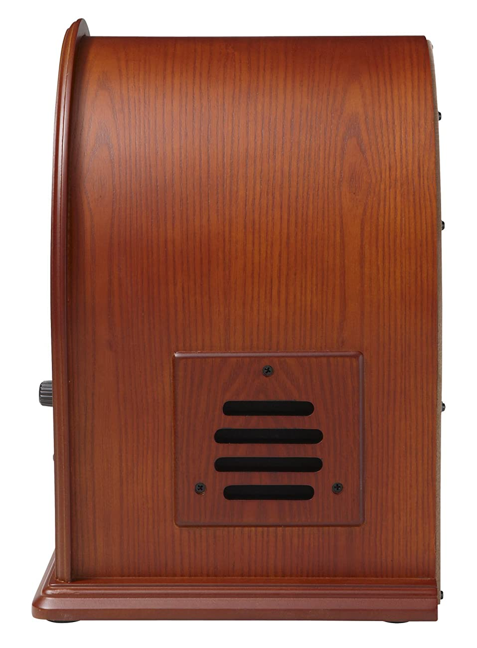 Crosley CR32CD Cathedral Retro AM/FM Radio and CD Player with Full-Range Stereo Speakers, Paprika 3
