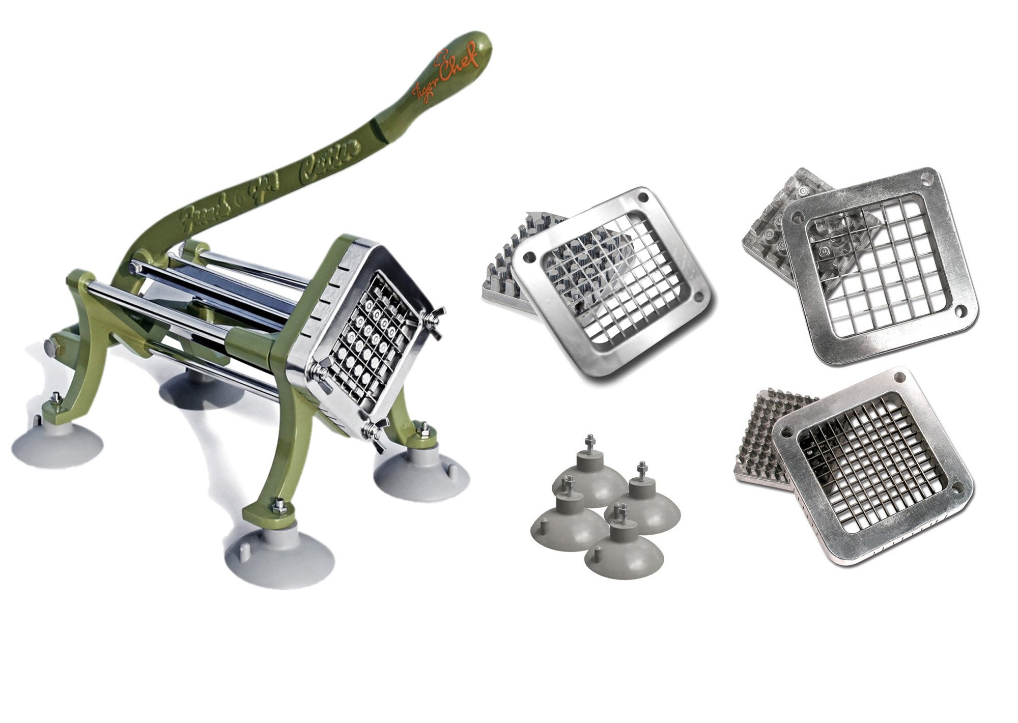 Have you been slicing and dicing your french fries by hand or with a plastic vegetable slicer? Commercial kitchen or not, we have a feeling that once you try our cutter you won't want to go back.
