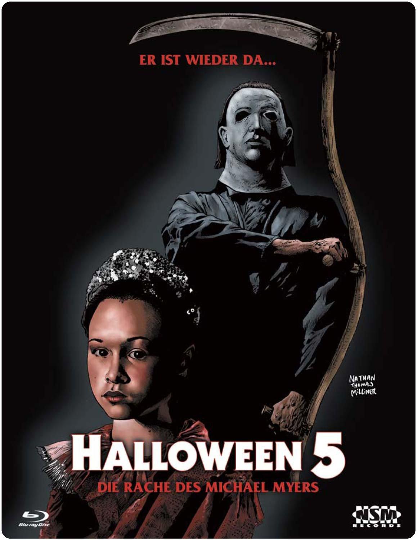 Halloween 5: The Revenge of Michael Myers (Blu-ray ...