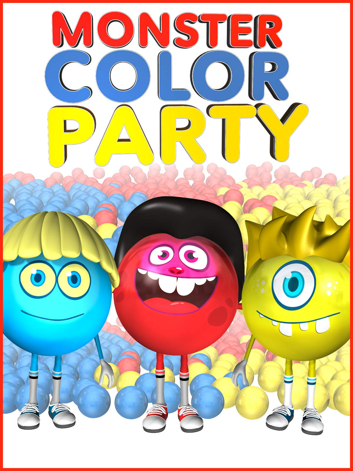 Monster Color Party on Amazon Prime Video UK