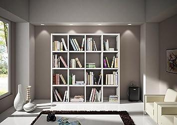 Lo Scrigno Arredamenti, Libreria Moderna bianco frassinato W568/M