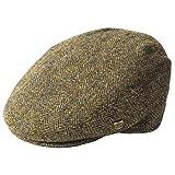 Failsworth Millinery Stornoway Harris Tweed Flat Cap (Latest Version) in Pattern 2013 - Brown, Size: XL (61cm) (Color: Pattern 2013 - Brown, Tamaño: XL (61cm))