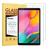 SPARIN [2-Pack] Screen Protector for Galaxy Tab A 10.1 2019, 9H Hardness Tempered Glass for Samsung Galaxy Tab A 10.1 2019 SM-T515/T510 [Bubble Free] [High Definition] [Scratch Proof] (Color: Clear)